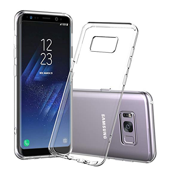 the best attitude 4fbe6 3c416 Samsung Galaxy S8 Clear Protective Cover